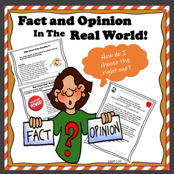 Fact & Opinion in the Real World