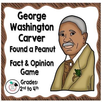 Fact & Opinion on George Washington Carver