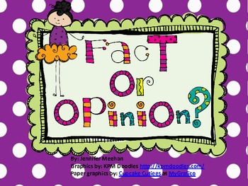 Fact Or Opinion Center