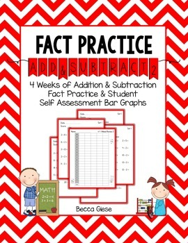 Fact Practice:  Adding & Subtracting 2
