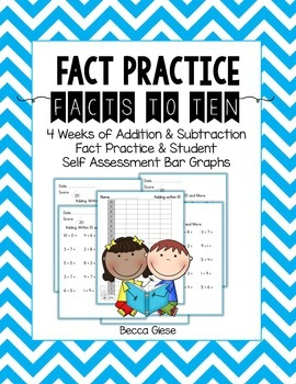 Fact Practice:  Adding & Subtracting Within 10