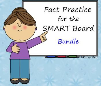 Fact Practice Bundle for the SMART Board