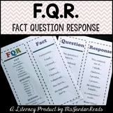 Fact Question Response (FQR): A Comprehension Strategy for Non-Fiction