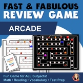 Arcade Maze Fact Review Game for Any Subject