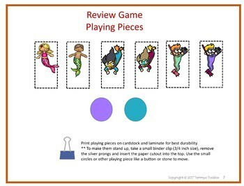 Under the Sea Fact Review Game for Any Subject