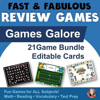 Board Games Galore for Fact Review Bundle