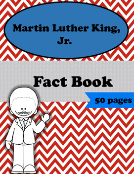 Fact (Shape) Book - Martin Luther King Jr.