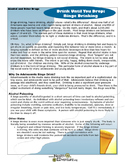 Fact Sheet: Binge Drinking Dangers