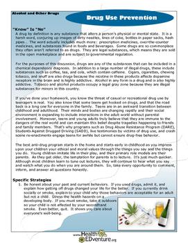 Fact Sheet: Drug Use Prevention