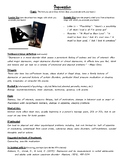 Fact Sheets for Emotions & Psychological Disorders