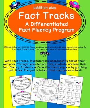 Fact Tracks Addition Plus: Differentiated & Student Guided
