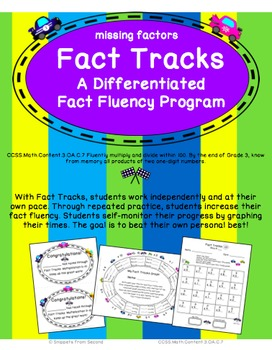 Fact Tracks Missing Factors: A Differentiated Fact Fluency Program