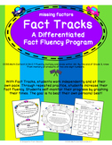 Fact Tracks Missing Factors: A Differentiated Fact Fluency