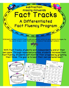 Fact Tracks Missing Minuends: A Differentiated Fact Fluenc