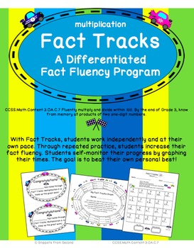 Fact Tracks Multiplication: A Differentiated Fact Fluency Program