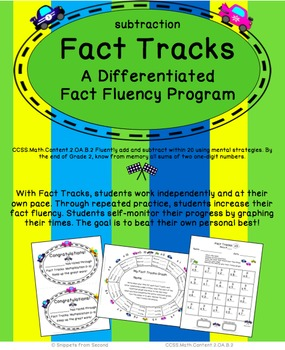 Fact Tracks Subtraction: A Differentiated Fact Fluency Program