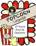 Fact VS Opinion Popcorn