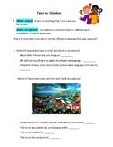 Fact Versus Opinion ESL Mini Lesson (Student Version)