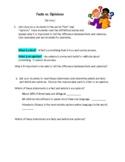 Fact Versus Opinion ESL Mini Lesson (Teacher Version)