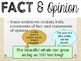 Fact Vs. Opinion Powerpoint Lesson