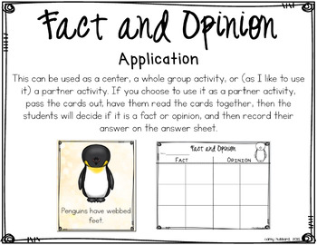 Penguin Fact and Opinion