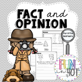 Introduction to Fact and Opinion for Little Learners!