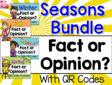 Seasons Fact and Opinion Bundle