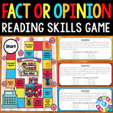 Fact and Opinion Activities: Fact and Opinion Passages Reading Game