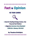 Fact and Opinion: 42 Common Core CCSS. ELA- Literacy. RH.