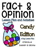 Fact and Opinion 5 Day Lesson Plan
