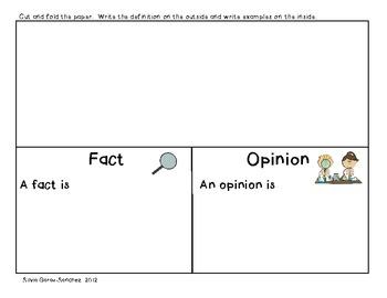 Fact and Opinion: A Mini Unit