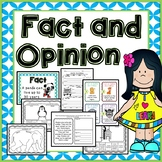 Fact and Opinion Activities: Cut and Paste, Readings, Task Cards, Worksheets