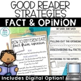 Fact and Opinion Activities and Task Card