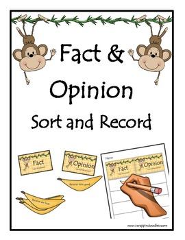 Fact and Opinion (Bananas)