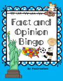 Fact and Opinion Bingo