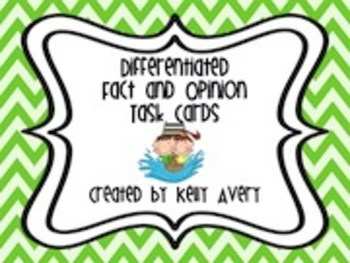 Fact and Opinion, CCSS Reading