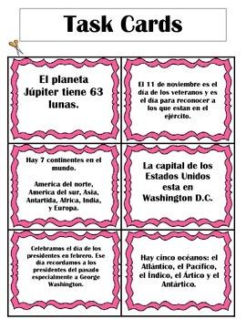Hecho y Opinión Center in Spanish