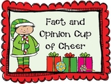 Fact and Opinion Cup of Cheer! {Sorting Activity}
