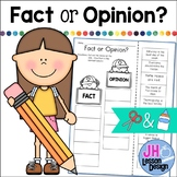 Fact and Opinion Cut and Paste Activity