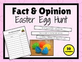 Fact and Opinion EASTER Egg Hunt!