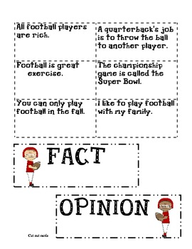 Fact and Opinion Football-WirthIt