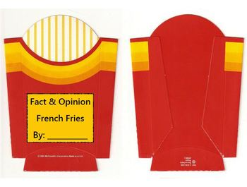 Fact and Opinion French Fries