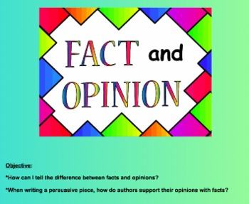 Fact and Opinion: How Can I Tell the Difference?