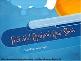 Fact and Opinion Interactive Game