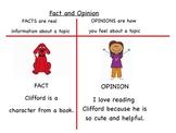 Fact and Opinion Introduction for Smartboard (Notebook File)