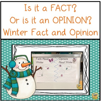 Fact and Opinion - Is it a Fact?  Or is it an Opinion?  5 easy activities!
