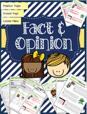 Fact and Opinion Lessons