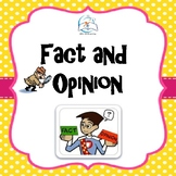 Fact and Opinion Task Cards, Games, Lessons, Worksheets fo