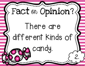 Fact and Opinion Mini Unit