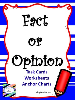 Fact and Opinion Mini-Unit